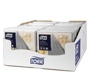 «Tork Premium Linstyle®» pelēka banketu salvete