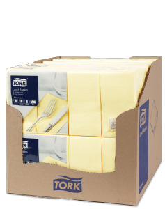 Tork Champagne Lunch Napkin 1/8 Folded