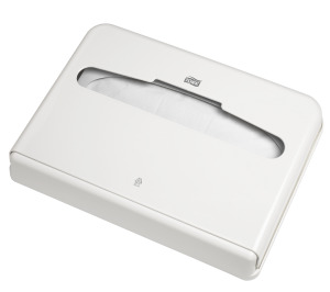 Tork диспенсер для бумажных покрытий на унитаз (V1).