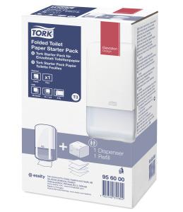 Tork Starter Pack pour Papier toilette feuilles