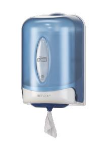 Dispensador de alimentación central mini de hoja única Tork Reflex™