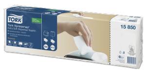 Tork Xpressnap® Extra Soft White Dispenser Napkin