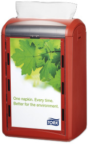 Tork Xpressnap® Distributeur de serviettes Comptoir
