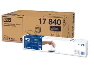 Tork Xpressnap Snack® Serviette pour distributeur, Blanc