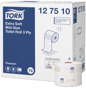 Toaletní papír Tork Premium Compact Roll Extra Soft