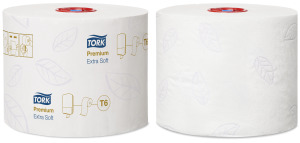 Tork papier toaletowy Mid-Size ekstra miękki Premium – 3 warstwy