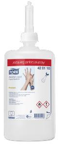 «Tork»šķidrais roku dezinfekcijas līdzeklis uz spirta bāzes