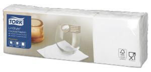 Tork biała serwetka koktajlowa Premium LinStyle®