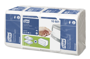 Tork Counterfold Vit Dispenserservett