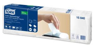 Tork Xpressnap® Extra Soft valkoinen annostelijaliina