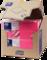 """""""Tork"""" šviesiai rožinės spalvos pietų servetėlės"""
