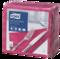 Tork Soft Bright Pink Dinner Napkin