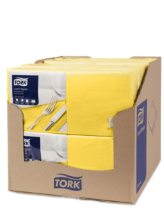 Tork Yellow Lunch Napkin