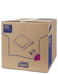 Tork Soft Purple Lunch Napkin