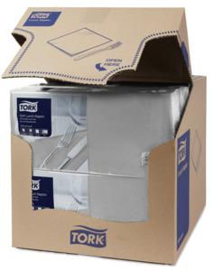 Tork Soft Grey Lunch Napkin