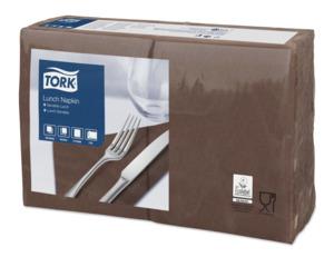 Tork Serviette Lunch, Marron