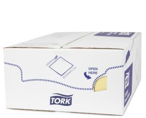 Tork LinStyle® Premium Dinnerservietten Champagner 1/8-Falz