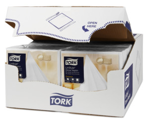 Tork LinStyle® Cocktailservett Vit