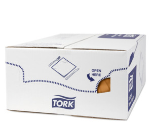 Tork Premium Linstyle® Orange Middagsserviet
