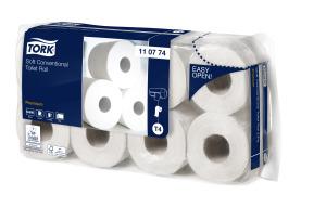 Tork weiches Kleinrollen Toilettenpapier Premium