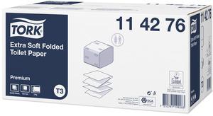 Tork Extra Soft Folded Toilet Paper Premium