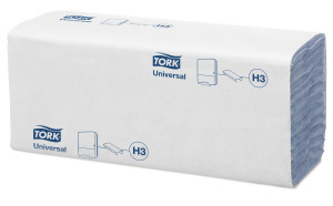 Tork Blue C-fold Hand Towel Universal