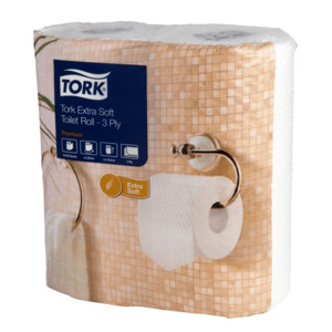 Tork Extra Soft Conventional Toilet Roll Premium – 3 Ply