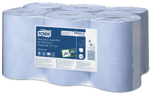 Tork Blue Hand Towel Roll for Electronic Dispenser - 24.7 cm