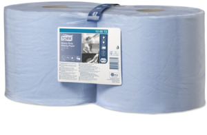 Tork Advanced Combi papel de secado de limpieza 430 azul Performance