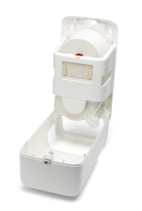 Tork®  Twin Mid-size Toilet Roll Dispenser