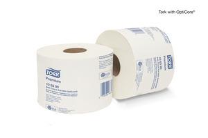 Tork Premium Bath Tissue Roll with OptiCore®