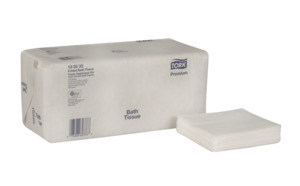 Tork Premium Folded Bath Tissue, 2-Ply
