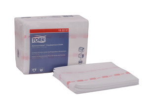 Tork Antimicrobial Foodservice Wiper, Z-Fold