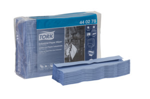 Tork Industrial Paper Wiper, Top-Pak