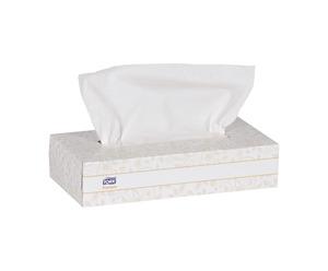 Faciales Tork Premium Flat Box de Hoja Doble Blanca