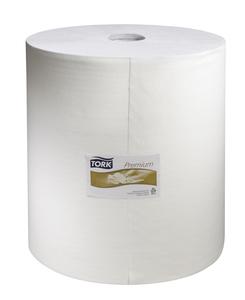 Paño en Rollo Jumbo Tork de Limpieza Industrial Ultra Resistente Blanco