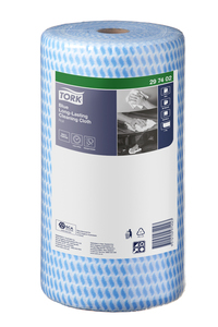 Tork®  Blue Long-Lasting Cleaning Cloth