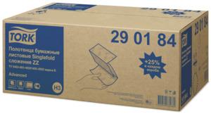 Tork листовые полотенца Singlefold сложения ZZ