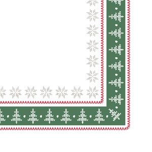 Tork Premium Textile Feel Christmas Memories Dinner -lautasliina