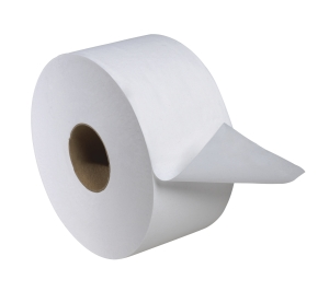 Tork Advanced Mini Jumbo Bath Tissue Roll, 2-Ply, 7.36 inch Dia.