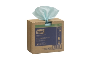 Tork Low-Lint Cleaning Cloth, Pop-Up Box