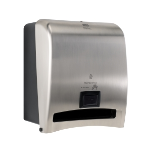 Tork Nickelite™ Hand Towel Roll Dispenser, Nickelite