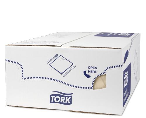 Tork Premium LinStyle® krémszínű Dinner szalvéta