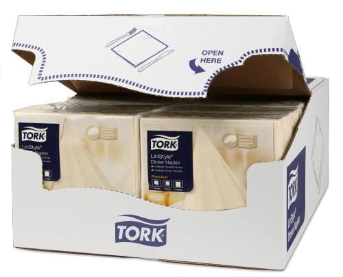 Tork Premium Linstyle® Cream Dinner Napkin