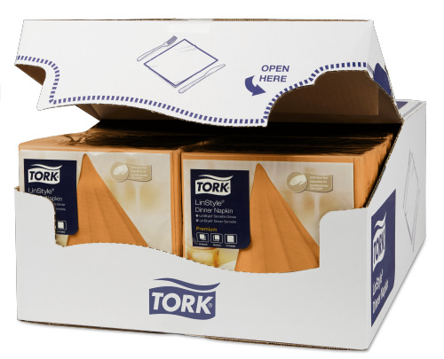 Tork LinStyle® Middagsservett Orange