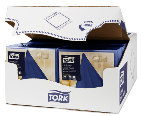 Tork Premium Linstyle® Midnight Blue Dinner Napkin