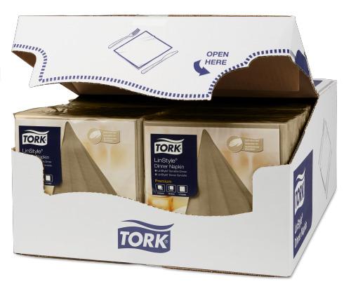 Tork Premium Linstyle® Dinner, Bistre