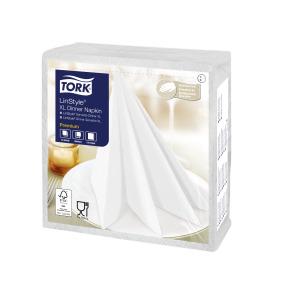 Tork Premium LinStyle® Tovagliolo Dinner XL bianco