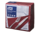 Tork®  Burgundy Edge Emboss Quarterfold Dinner Napkins 2 Ply