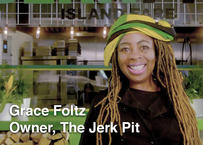 Grace Owner of the Jerk Pit